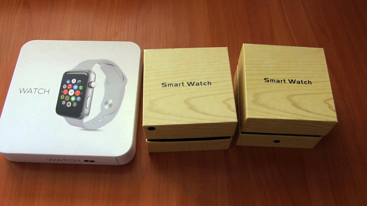 Лучшие копии Apple Watch (3 версии  MTK 89cb70e9c91f3