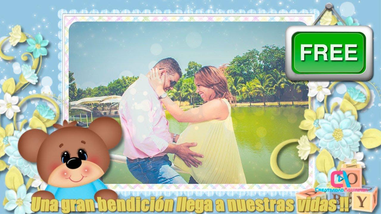 Invitación Baby Shower Digital De Niño