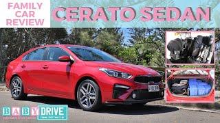 Family car review: Kia Cerato (Forte) Sedan 2018