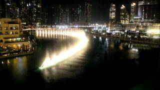 Dubai Fountain - I Will Always Love You (HD Format)