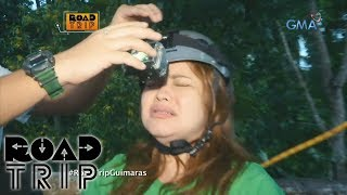 Road Trip: Manilyn trembles in zip line