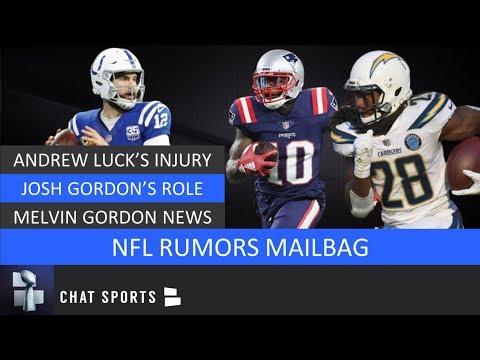 NFL Rumors Mailbag: Andrew Luck Injury, Josh Gordon, Melvin Gordon News & Johnny Manziel To Cowboys?
