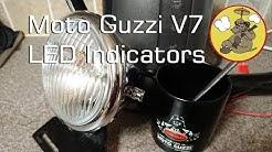 Moto Guzzi V7 - Fitting discrete LED indicators + an issue I need help with