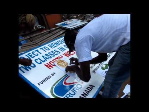 Building  Community Through Arts, Bamenda, Cameroon, Africa