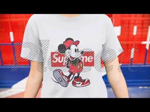 c820e6bfb360 Old Disney Mickey Mouse Style Supreme Shirts - YouTube