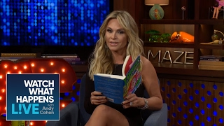 Tamra Judge Reads a Sneak Peek of Andy's New Book, SUPERFICIAL | WWHL