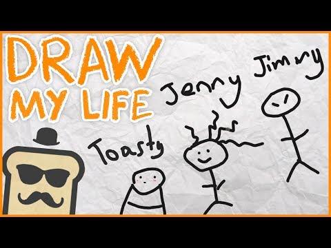 Draw My Life - Disguised Toast Origin Story