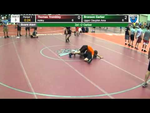 3:Upper Dauphin Area Bronson Garber vs  Holley  Thomas Trombley 966509011