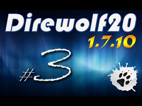 Minecraft modokkal - Direwolf20 - 1.7.10 sorozat S2E3 : Fa - lak