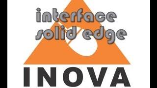 Interface de Trabalho- Vídeo Tutorial de Solid Edge   ST4