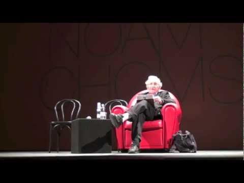 "Noam Chomsky: ""The Emerging World Order: its roots, our legacy"""