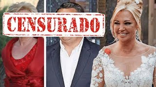 La suegra de Belén Esteban estalla el tremendo error en la boda con Miguel Marcos