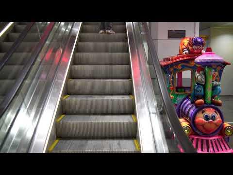 Norway, Oslo bus terminal / Central Station, 6X walkalator, 6X escalator