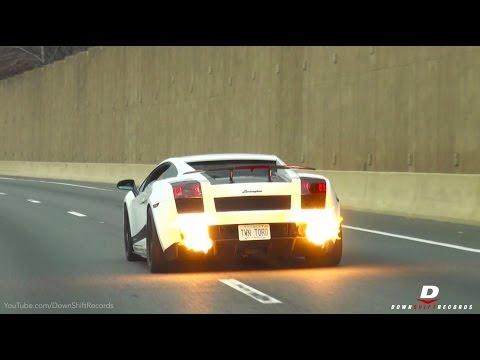 1500HP UGR Superleggera Highway Pulls & Flames