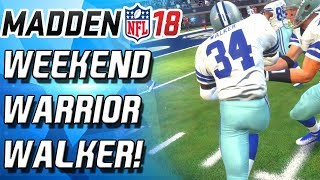 HERSCHEL WALKER IS THE GOAT! BEST DUAL THREAT RUNNING BACK! - Madden 18 Ultimate Team