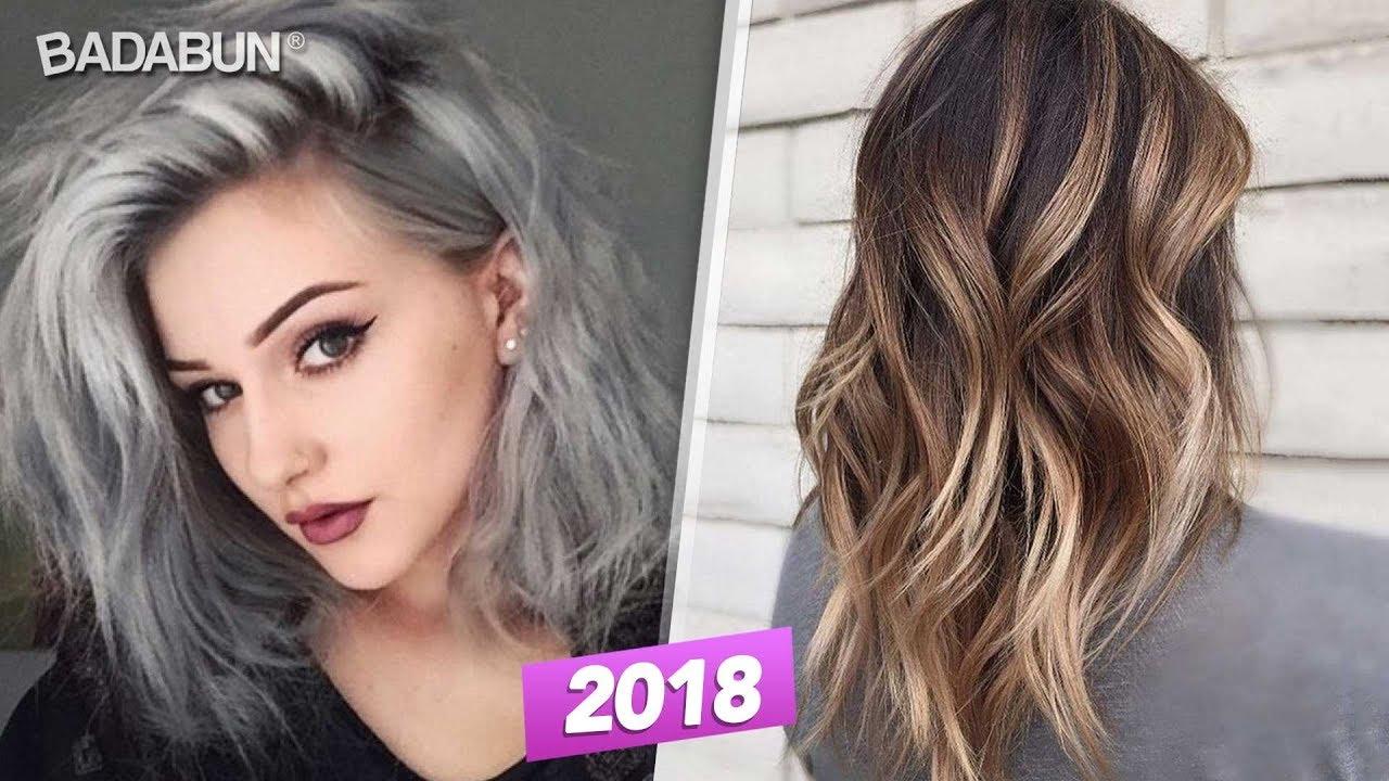 10 colores de cabello que serán tendencia para el 2018 - YouTube 5bc12b09f09a