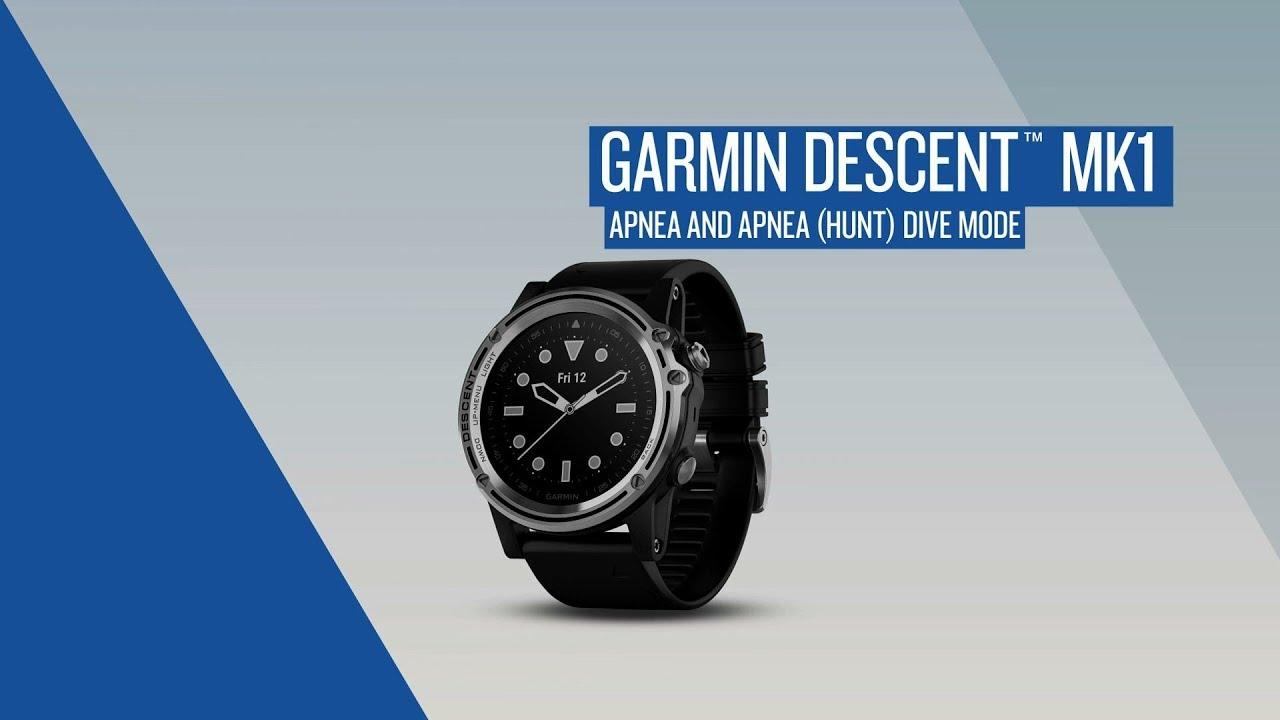 Garmin Descent™: Apnea and Apnea (Hunt) Dive Mode - Dauer: 116 Sekunden