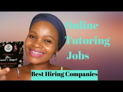 4 Companies Hiring for Tutoring jobs in South Africa.