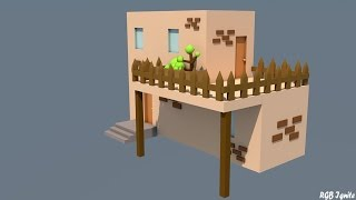 Cinema 4D Speed Art:: Cottage