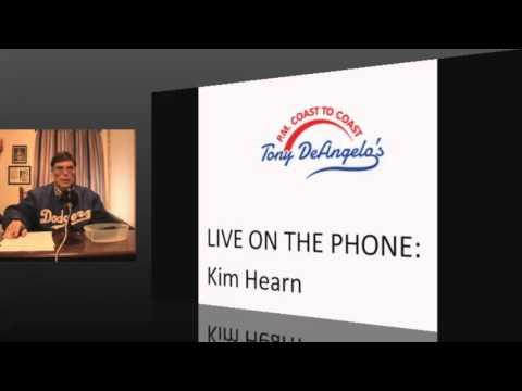 Tony De Angelo's P.M. Coast to Coast Interview with Kim Hearn 12/22/15