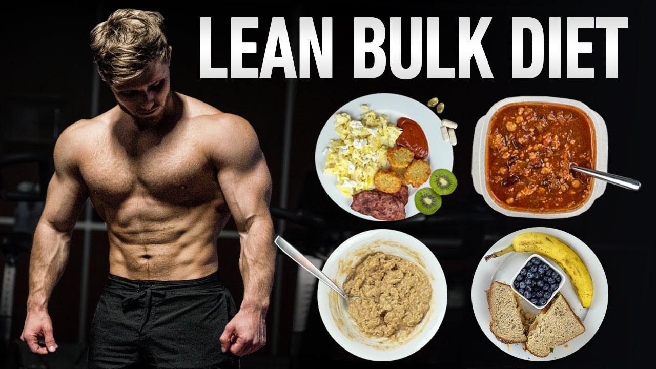 How To Eat To Build Muscle Lose Fat Lean Bulking Full Day Of Eating Youtube