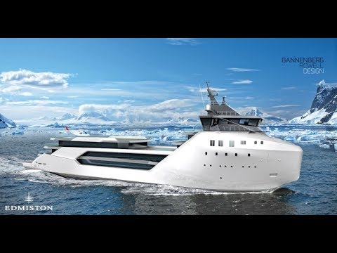 The Kilkea Explorer Yacht Container Ship