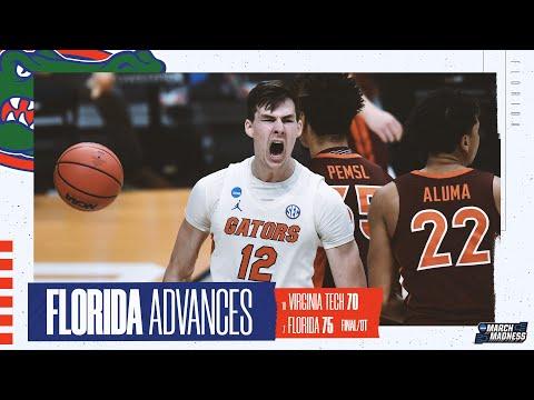 Virginia Tech vs. Florida - First Round NCAA tournament extended highlights