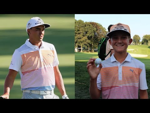 Rickie Fowler goes above and beyond for young fan