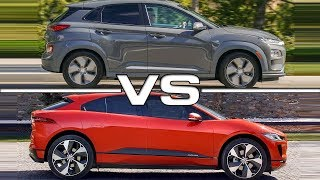 2019 Hyundai Kona Electric vs 2019 Jaguar I-Pace Technical Specifications