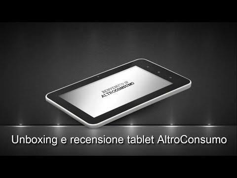 Unboxing e recensione Tablet AltroConsumo