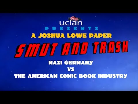 Smut and Trash: Nazi Germany vs. The American Comic Book Industry