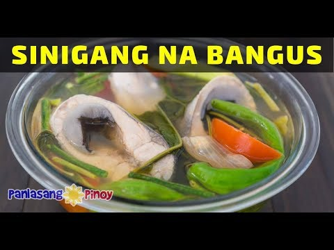 How To Cook Sinigang Na Bangus Youtube