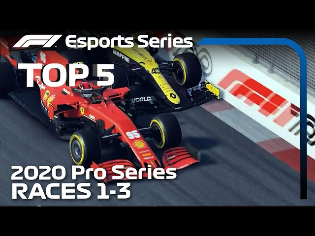 Top 5 Moments | 2020 F1 Esports Pro Series Event 1