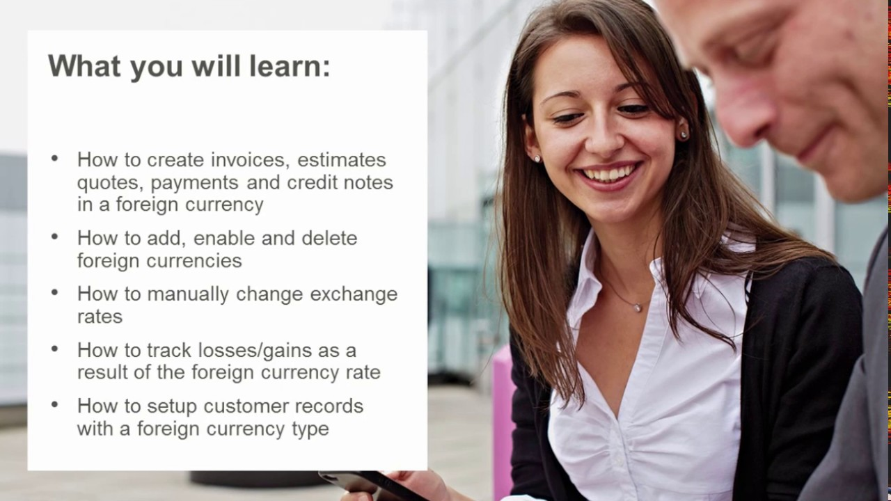 Sage Business Cloud Accounting Formerly One Us Canada Foreign Currency Transactions