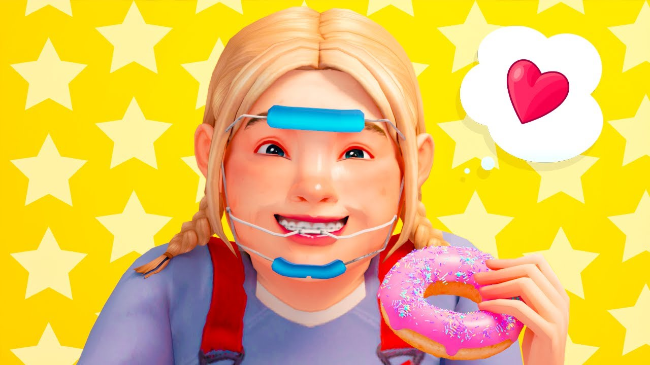 HUNGRY 🍩 BEFORE AND AFTER 💖SIMS 4