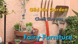 Fairy Garden Furniture!!! Diy