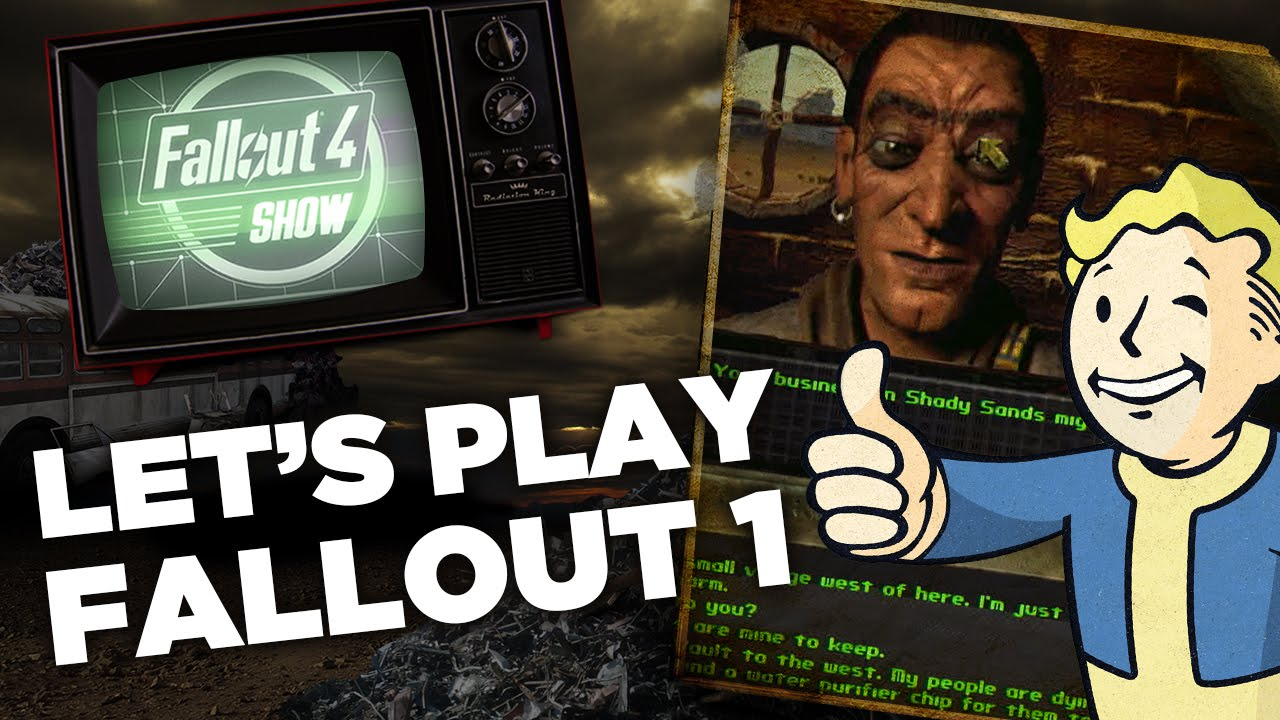 Let's Play Fallout 1: Finding Dogmeat with Evil Frederick - Fallout 4 Show