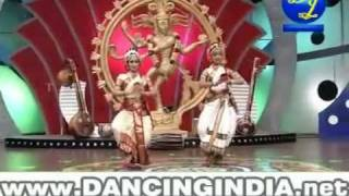 Classical Indian dance contest - best