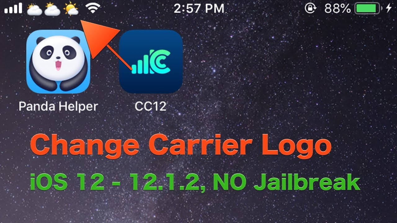 CarrierChanger12- How To Change Carrier Name On iOS12