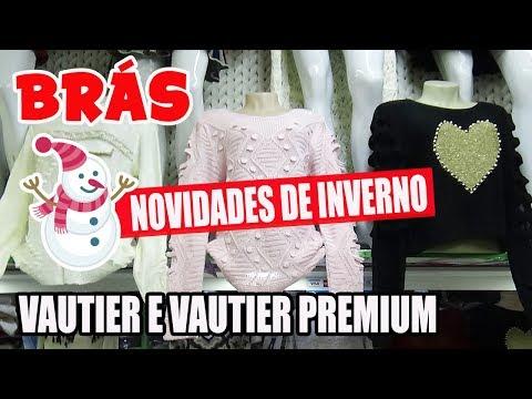 3c907cd0b BRÁS - ROUPAS BARATAS DE INVERNO NO SHOPPING VAUTIER E VAUTIER PREMIUM