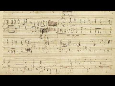 Chopin - Ballade 2 - Follow Autograph Manuscript - Paul Barton, piano