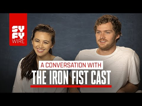 Iron Fist's Finn Jones And Jessica Henwick P Season 2  SYFY WIRE