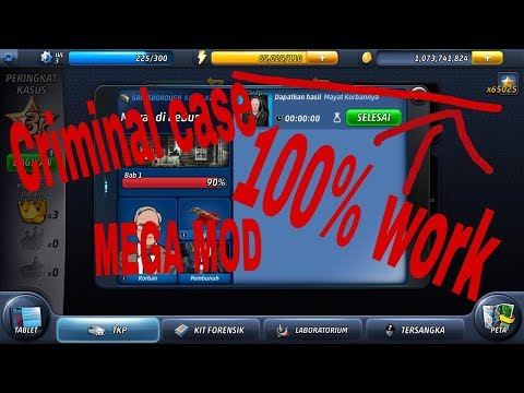 Download Criminal Case Mod/cheat Unlimited Coin,bintang,energi,semua Kasus Terbuka(100% Work)
