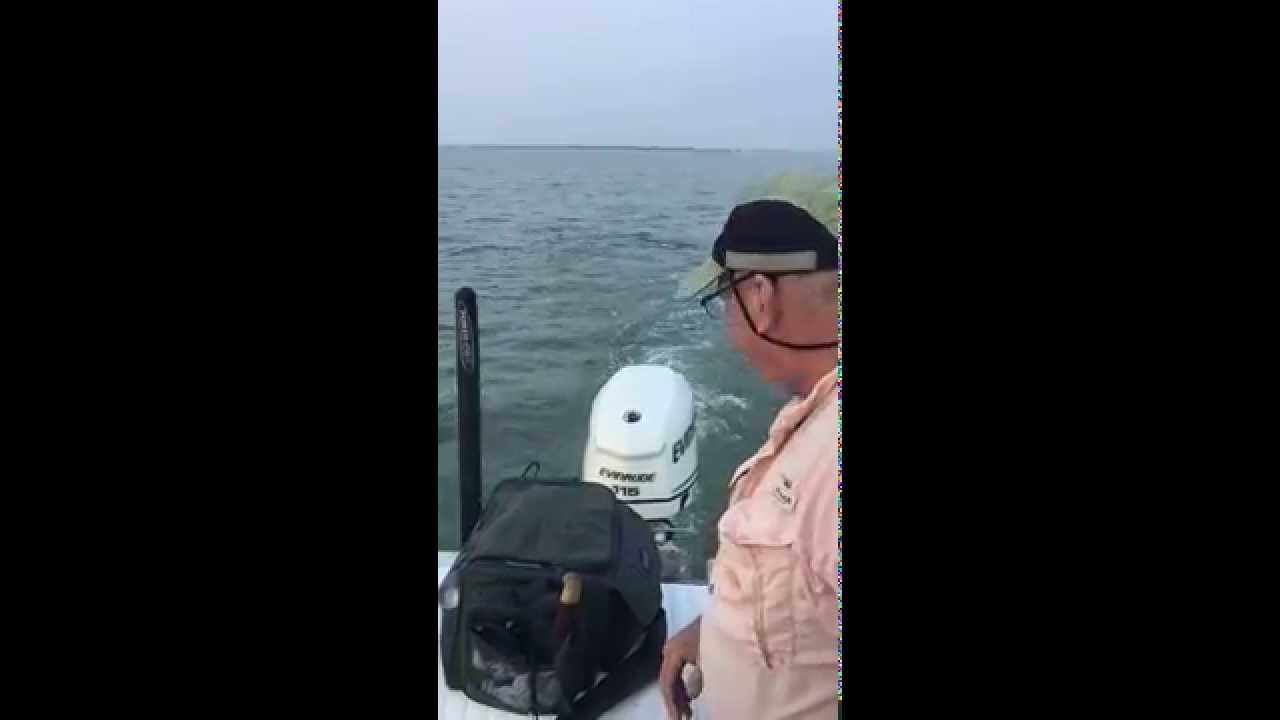 Texas Small Boat Shrimp/Bait Trawl Part 1
