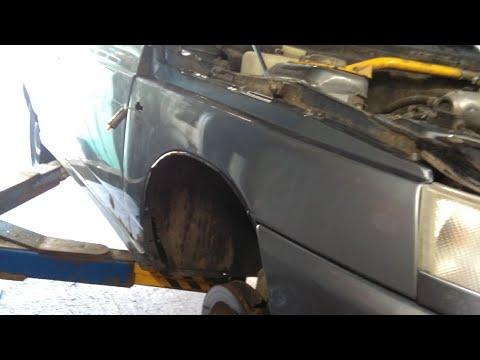 Замена переднего крыла ВАЗ 2112