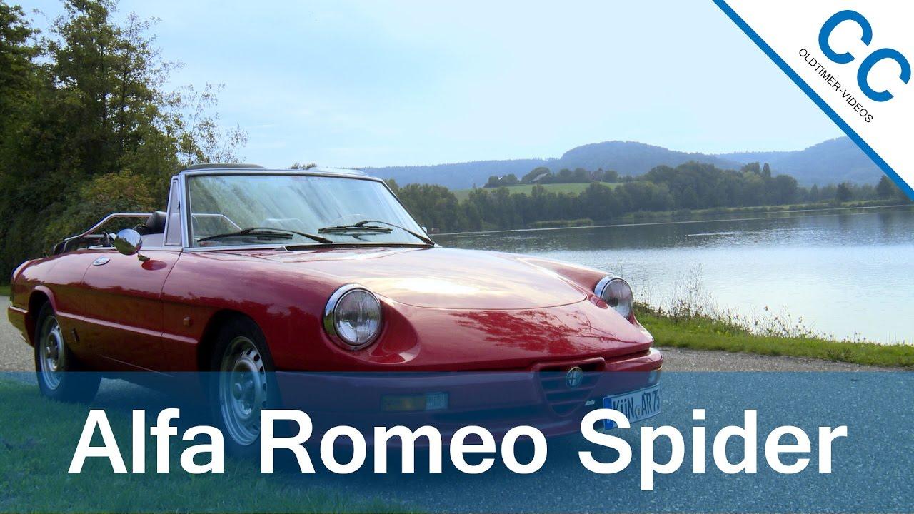 alfa romeo spider 1985 - ride to the breitenauer see [hd] - youtube
