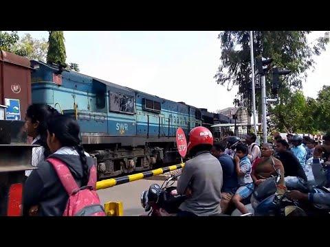 Alcos with bcn freight at Kagdaspura railway gate
