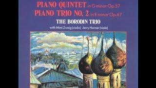Shostakovich - Piano Quintet in G minor, Op.57 III. Scherzo: Allegretto