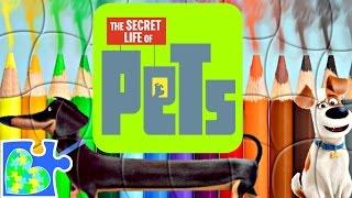 SECRET LIFE OF PETS MAX THE DOG PUZZLE FOR KIDS! Rompecabezas de La Vida Secreta de tus Mascotas.