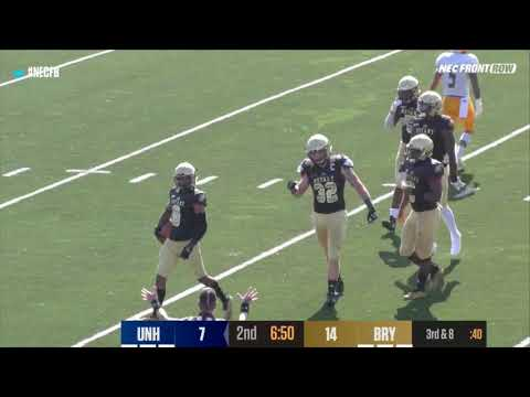 Bryant Football Vs New Haven Highlight